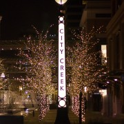 Christmas Lights Installed at City Creek Mall