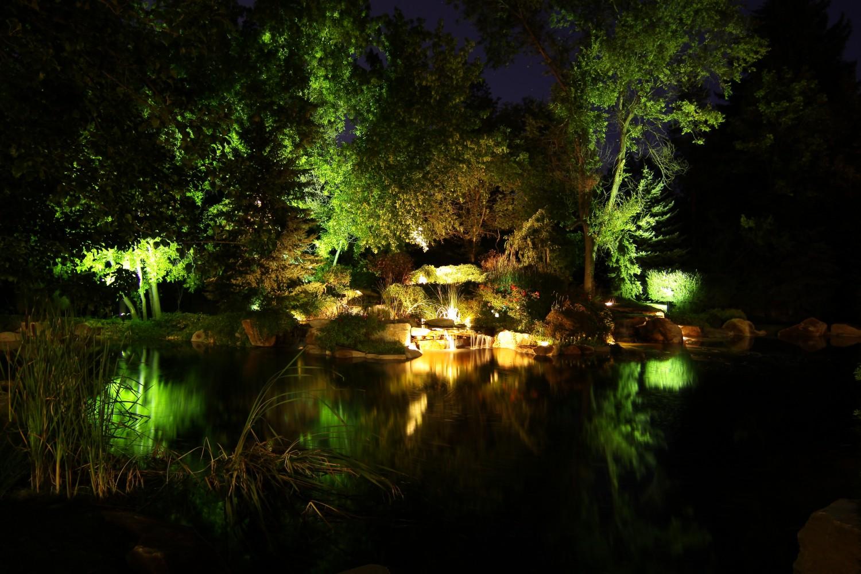 Professional Landscape Amp Tree Lighting Park City Amp Salt