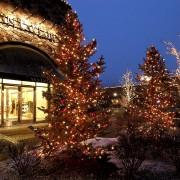 Christmas lighting at Riverwoods