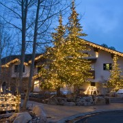 commercial properties christmas lights