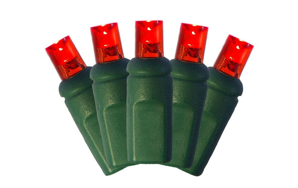 5mm Christmas Lights - Red | Brite Nites