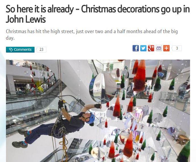 Brite Nites Blog   Celebrating Christmas Early