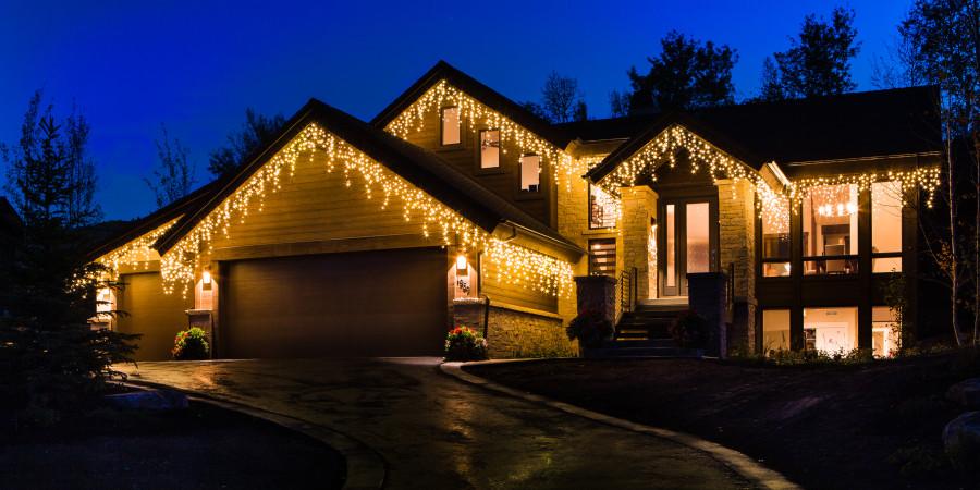 Brite Nites Residential Holiday Lighting Park City Utah