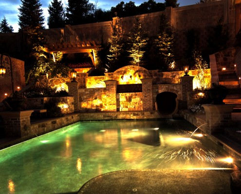 Brite Nites pool lighting