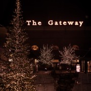 Professional Christmas Lights at The Gateway