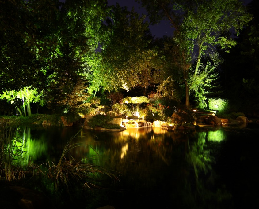 Brite Nites landscape lighting | uplights