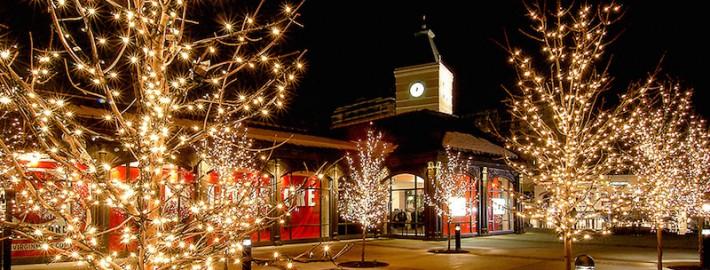 Christmas Light Installation for Malls