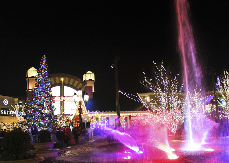 Brite Nites Lights up Station Park