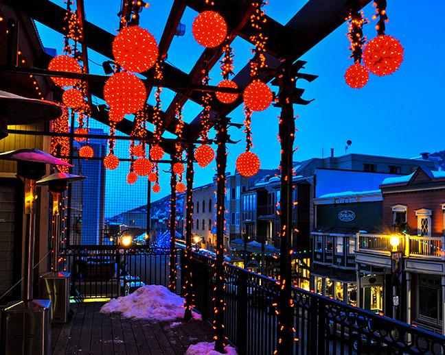 Light Spheres by Brite Nites in Park City