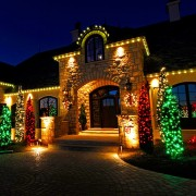 Christmas Light Installation for Homes in Utah