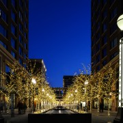 City Creek Entrance Holiday Lighting