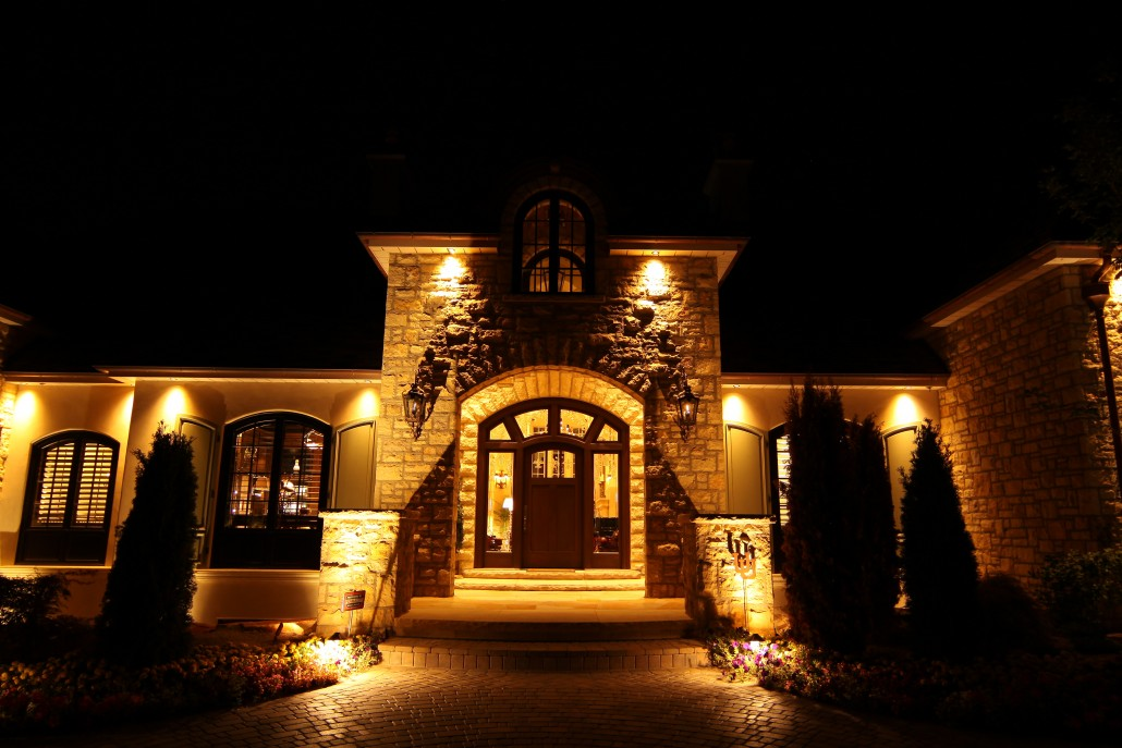 Professional Home Illumination Landscape Lighting Utah