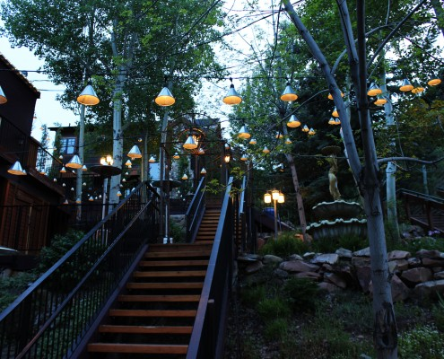 Grappa Outdoor Patio Lighting