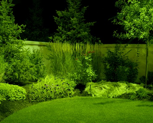 Green Landscape Lighting | Brite Nites | Salt Lake City