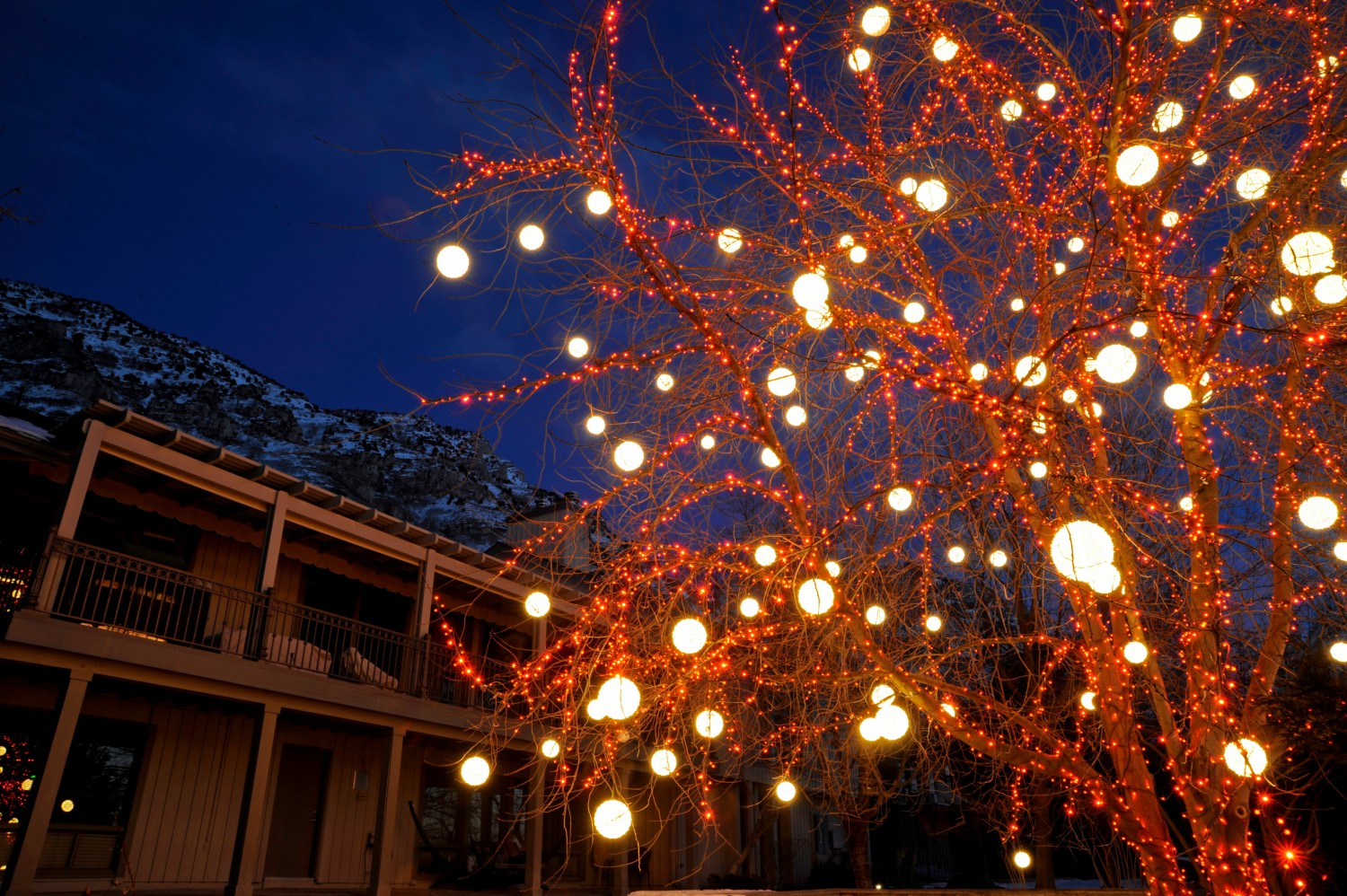 light spheres in salt lake city